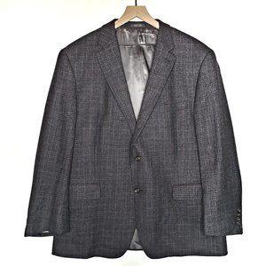 Lauren Ralph Lauren Men's Wool Plaid Suit Coat 50R